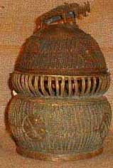Tribal African Boxes from the Ashanti