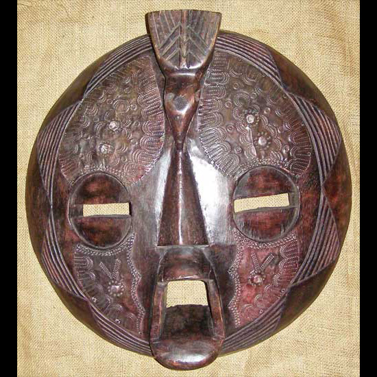 Tribal African Masks from the Baluba