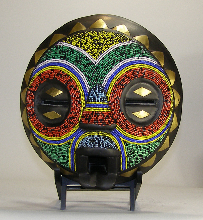 African Mask from the Balubagrams Tribe of Congo