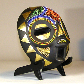 Tribal African Masks from the Balubagrams