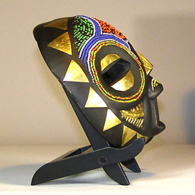 Africian Mask from the Balubagrams Tribe of Congo