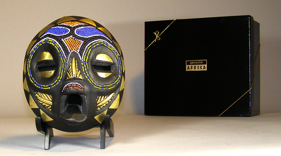 African Traditional art from the Balubagrams Tribe - African Mask