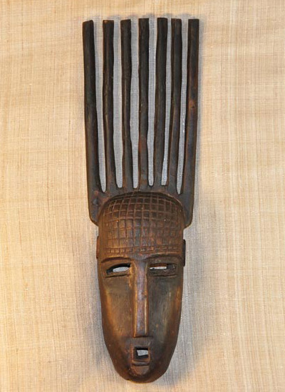 Africian Mask from the Bambara Tribe of Mali