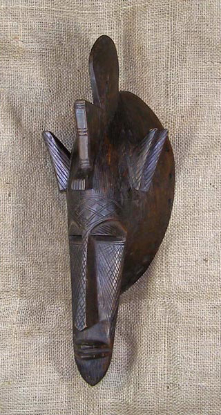 Tribal African Masks from the Bambara