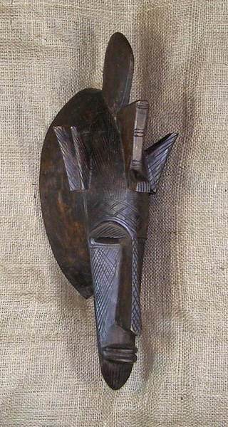 African Traditional art from the Bambara Tribe - African Mask