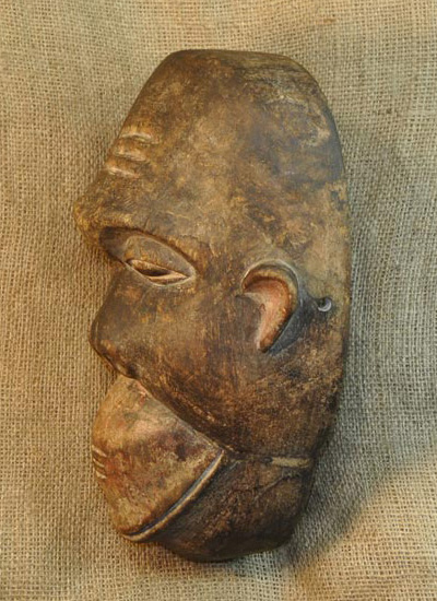Africian Mask from the Bamileke Tribe of Cameroon