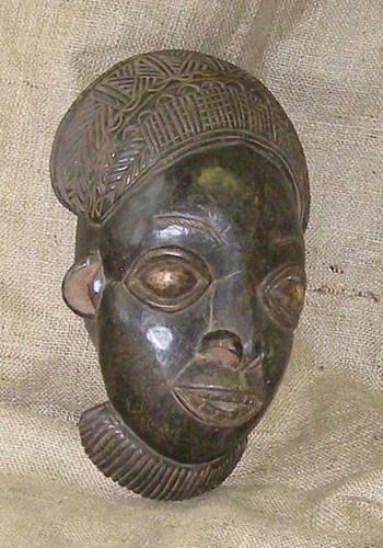 Tribal African Masks from the Bamileke