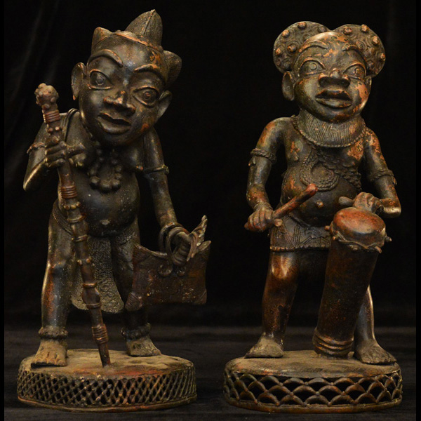 African Bronze from the Bamum people of Cameroon