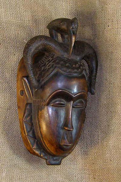 Tribal African Masks from the Baule