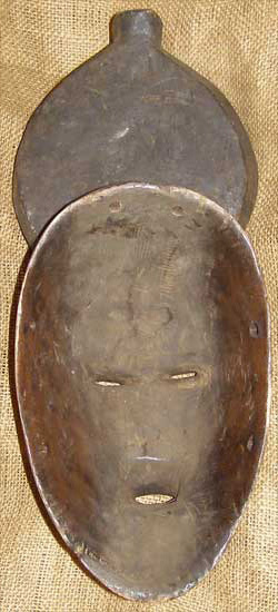 African Mask from the Baule Tribe of the Ivory Coast