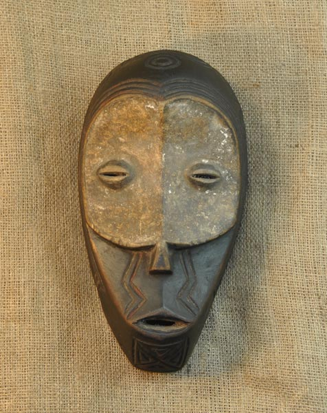 Africian Mask from the Benalua Tribe of Democratic Republic of Congo