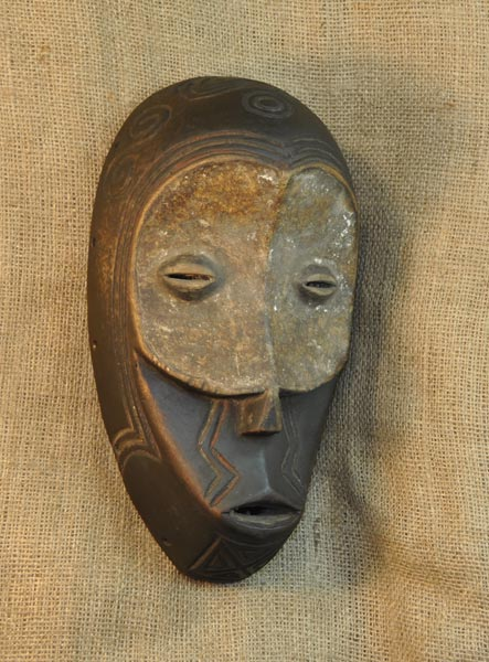 African Benalua Mask and African Sculptures