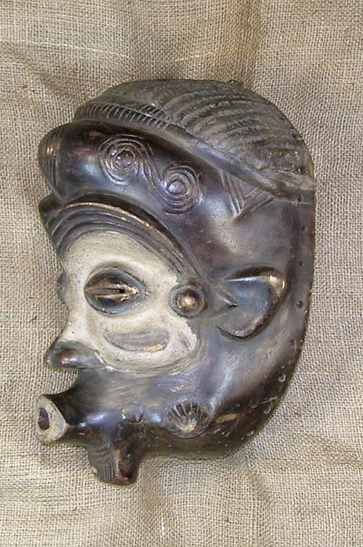 Tribal African Masks from the Benalua