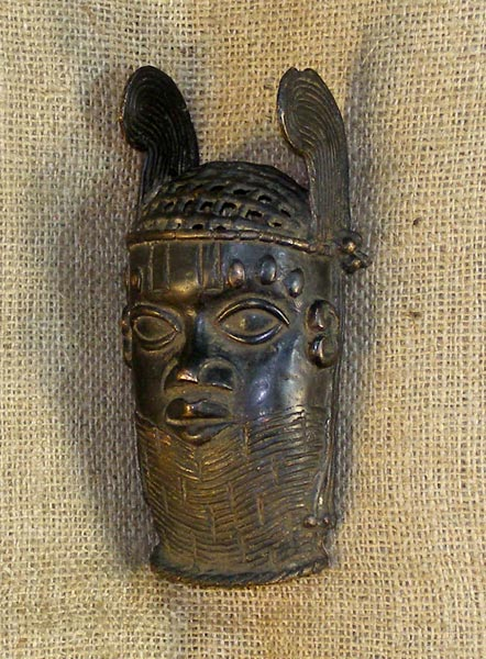 African Benin Bronze and African Sculptures