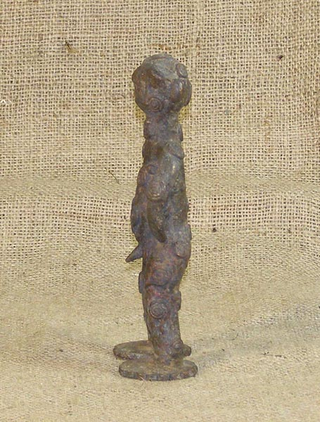 African Bronze from the Benin Tribe of Benin