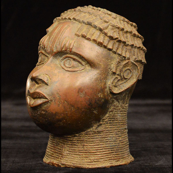 Africian Bronze from the Benin Tribe of Benin