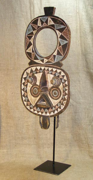 Africian Mask from the Bobo Tribe of Ivory Coast