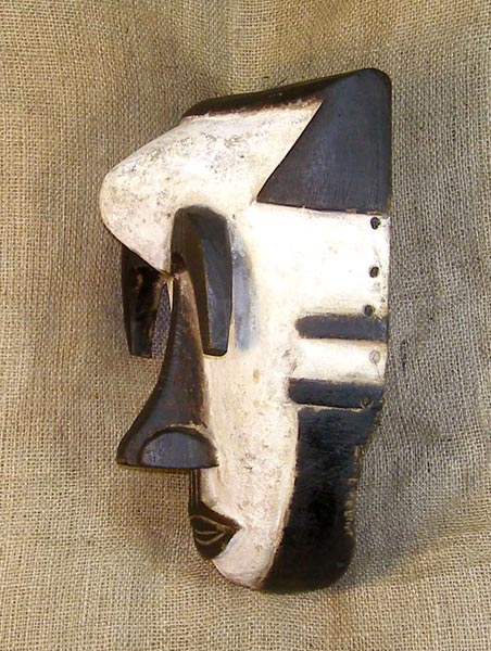 Tribal African Masks from the Bulu