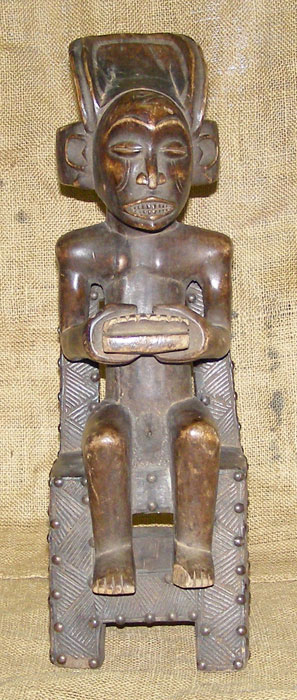 Tribal African Statues from the Chokwe