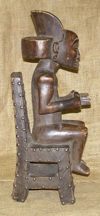 African Traditional art from the Chokwe Tribe - African Statue