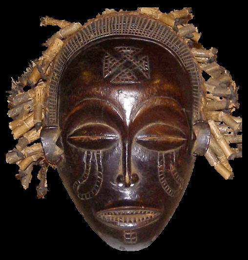 Tribal African Masks from the Chokwe