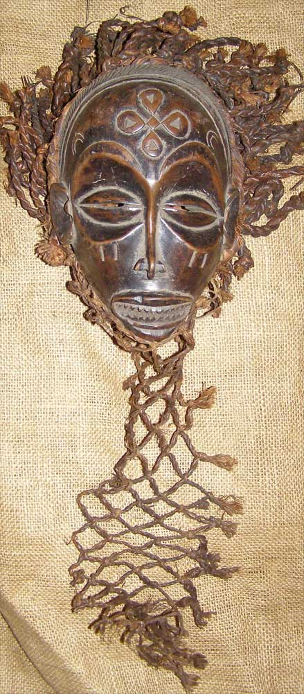 African Artwork from the Chokwe Tribe - African Antique