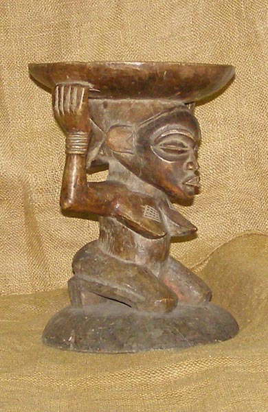 African Antique Stools from GenuineAfrica.com