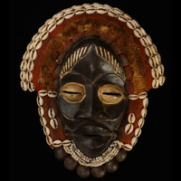 Dan Mask 72: Click for more views of this African Mask.