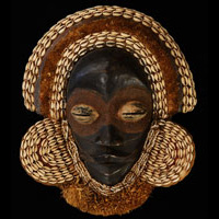 Dan Mask 73: Click for more views of this African Mask.