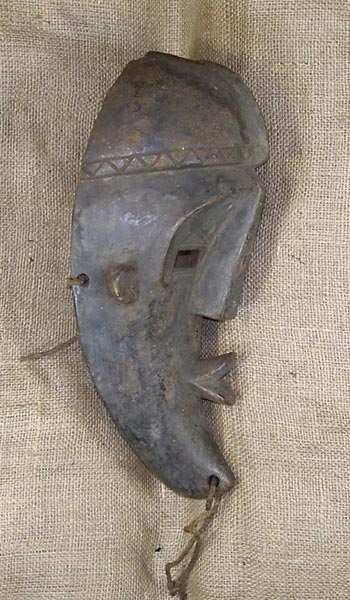 African Mask from the Dan Tribe of Ivory Coast and Liberia