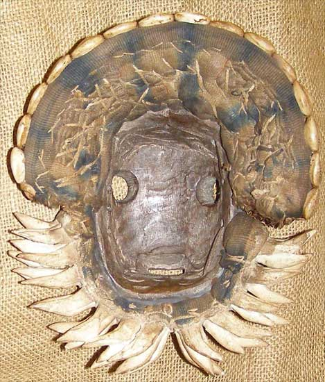 Africian Mask from the Dan Tribe of Ivory Coast and Liberia