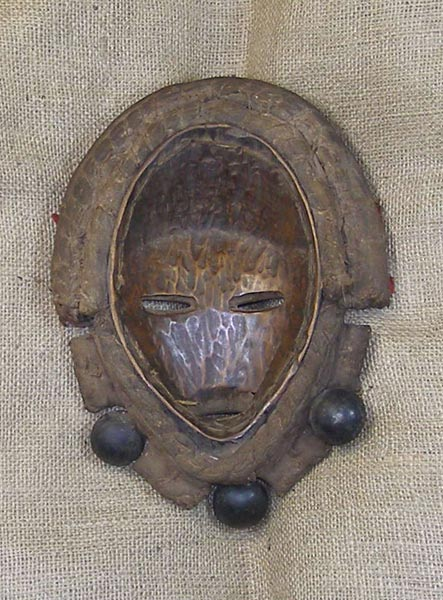 African Traditional art from the Dan Tribe - African Mask
