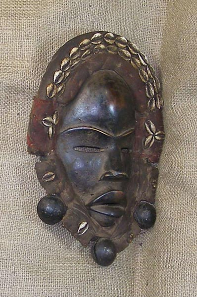 African Dan Mask and African Sculptures