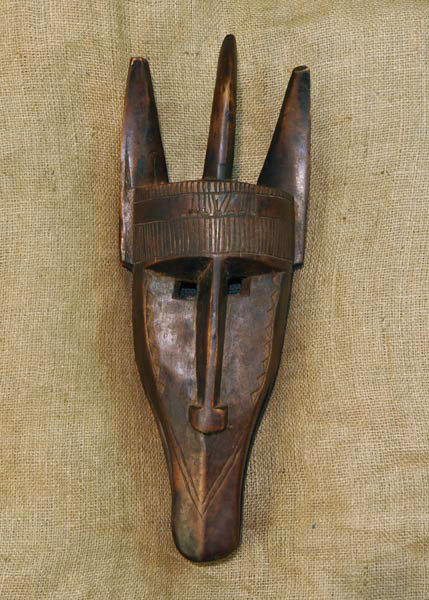African Mask from the Dogon Tribe of Mali and Burkina Faso