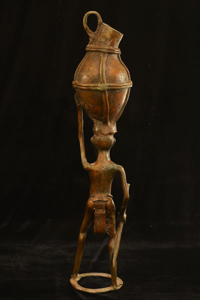 African Dogon Bronze 85, Back