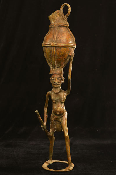 African Dogon Bronze 85 Front