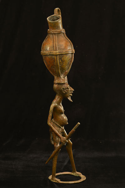 African Dogon Bronze 85, Right