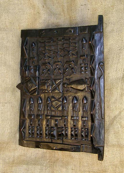African Dogon Door and African Sculptures