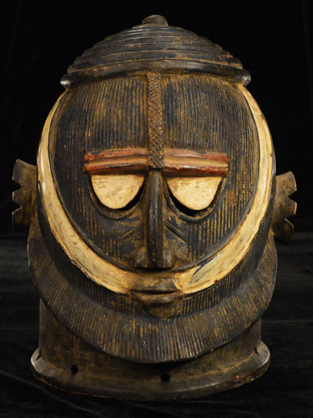 African Decor - Africa Helmet-Mask
