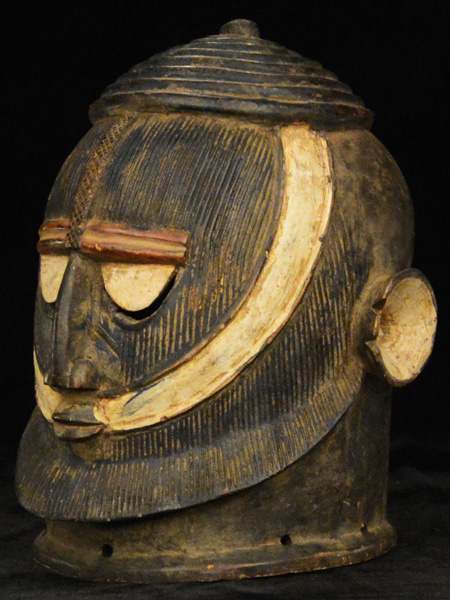 Tribal African Helmet-Masks from the Dogon
