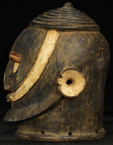 African Helmet-Mask from the Dogon Tribe of Mali and Burkina Faso