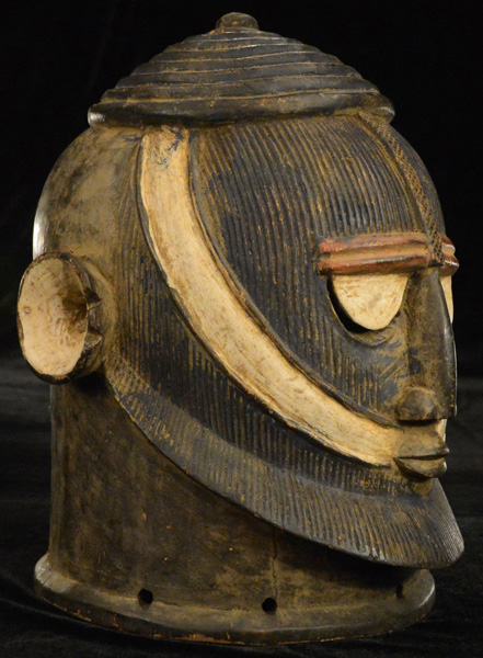 African Traditional art from the Dogon Tribe - African Helmet-Mask
