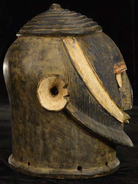 African Antique Helmet-Masks from GenuineAfrica.com