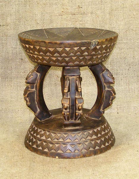 African Decor - Africa Stool