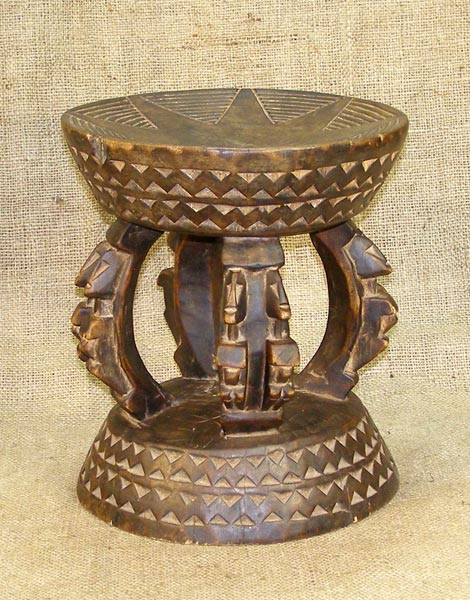 Tribal African Stools from the Dogon