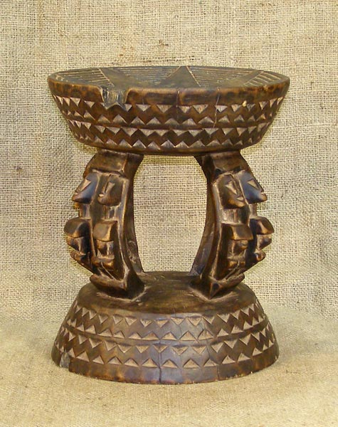 African Traditional art from the Dogon Tribe - African Stool