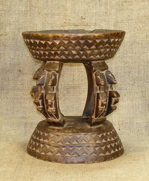 Africian Stool from the Dogon Tribe of Mali and Burkina Faso
