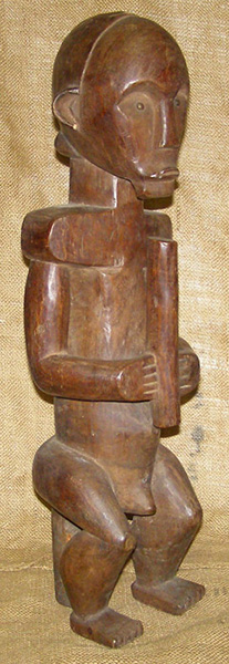 African Traditional art from the Fang Tribe - African Statue