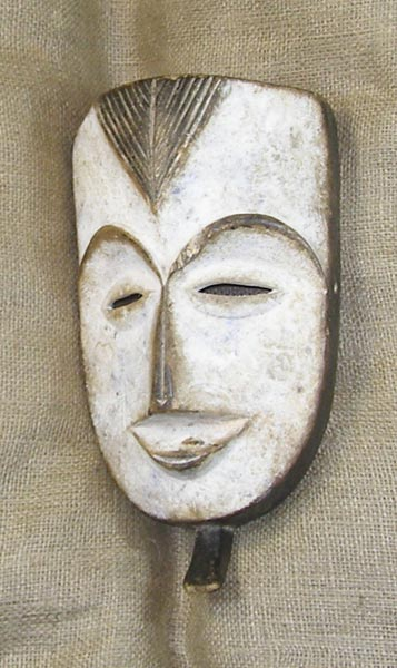 Africian Mask from the Fang Tribe of Cameroon, Equatorial Guinea, and Gabon