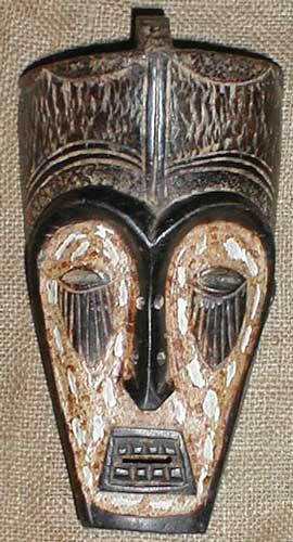 African Mask from the Fang Tribe of Cameroon, Equatorial Guinea, and Gabon